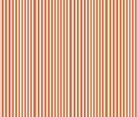 Perfectly Pinstripe in Orange // White fabric by theartwerks on Spoonflower - custom fabric