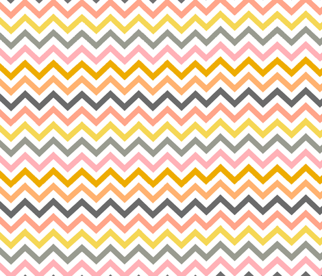 Emma's Chevron fabric by theartwerks on Spoonflower - custom fabric