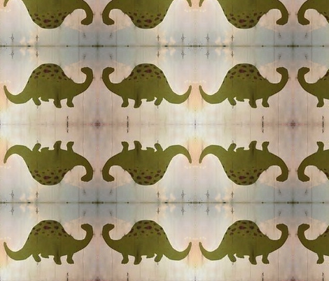 Dinosaur fabric by sydneywaves on Spoonflower - custom fabric