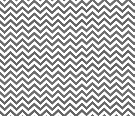 Simply Chevron in Charcoal
