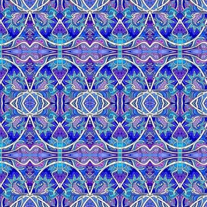 The Paisley and Scallop Blues