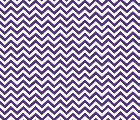 Simply Chevron in Eggplant Purple