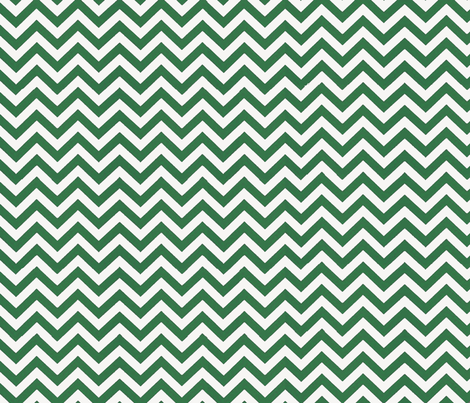 Simply Chevron in Emerald