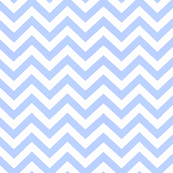 Simply Chevron in Baby Blue