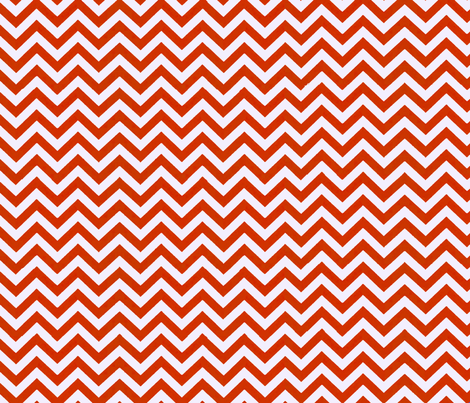 Simply Chevron in Apple Red