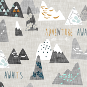 Max's Mountains (grey)