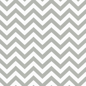 Simply Chevron in Light Grey
