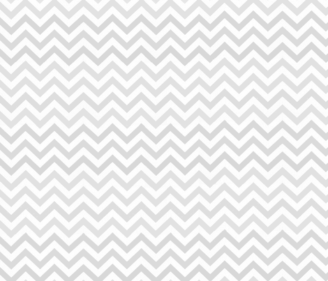 Simply Chevron in Pale Grey fabric by theartwerks on Spoonflower - custom fabric