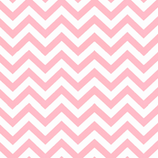 Simply Chevron in Baby Pink