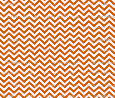 Simply Chevron in UT Burnt Orange
