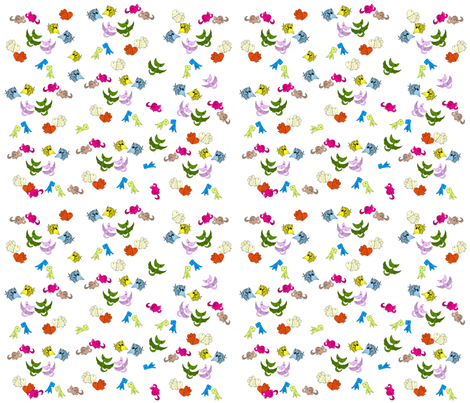 happy_dino_land fabric by mayleong333 on Spoonflower - custom fabric
