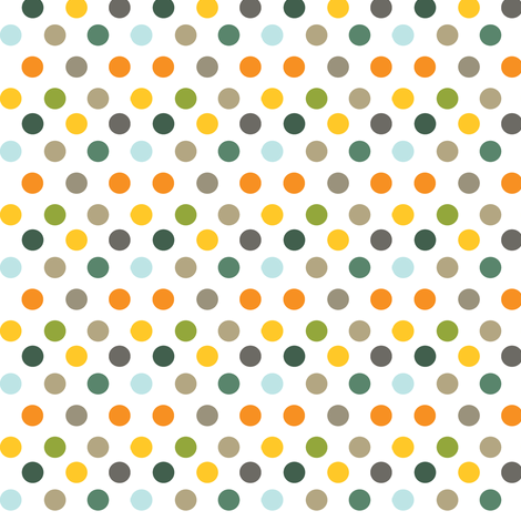 Backyard 003 - Summer Palette fabric by valerie_foster on Spoonflower - custom fabric