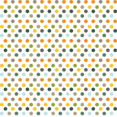 Backyard 003 - Summer Palette fabric by tradewind_creative on Spoonflower - custom fabric