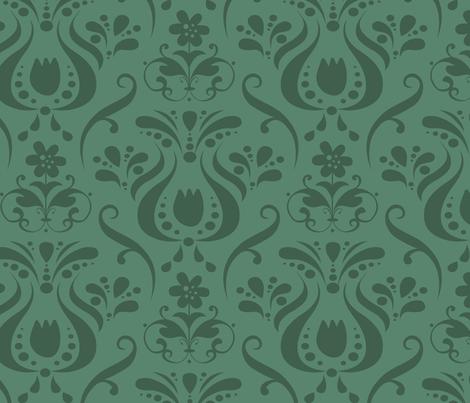 Backyard 007 - Summer Palette fabric by valerie_foster on Spoonflower - custom fabric