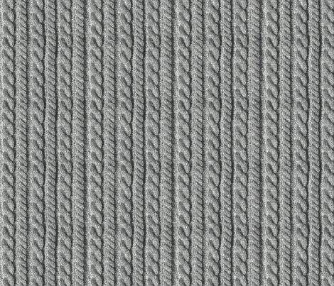 Knitting in grey giftwrap - wantit - Spoonflower
