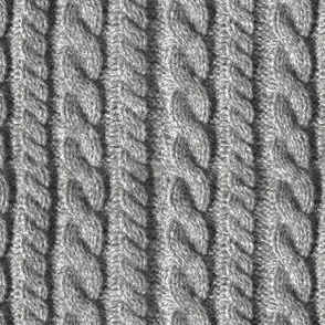 Knitting in Grey