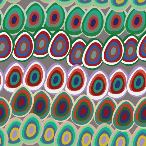 colorful_ovals fabric by uramarinka on Spoonflower - custom fabric