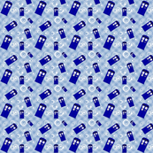 Police Box Blue Plaid (med-600)