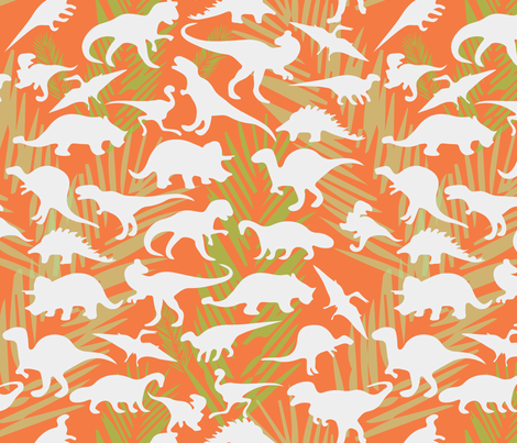 DinoMaximus fabric by brutiful on Spoonflower - custom fabric