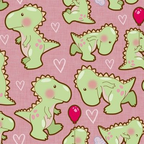 baby_dinosaurs_on _Pink