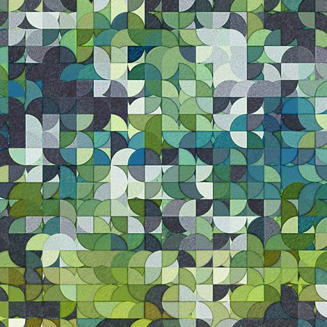 Cornered! fabric by resdesigns on Spoonflower - custom fabric