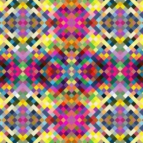 Small scale Color Block Pixels