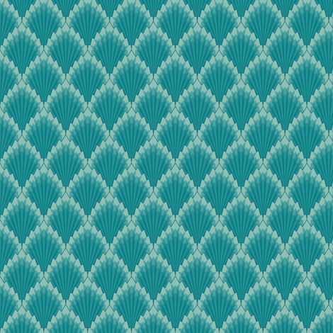 Deco Geometric fabric by gail_mcneillie on Spoonflower - custom fabric