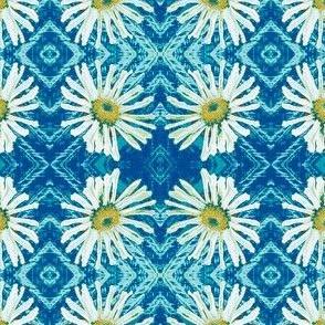 blue daisy argyle