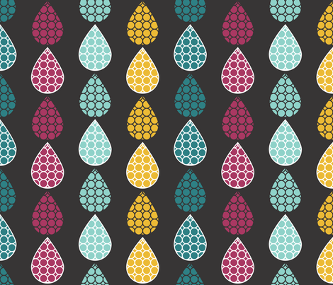 Polka Dot Drops fabric by michellenilson on Spoonflower - custom fabric