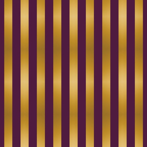 Stripes Purple and Gold