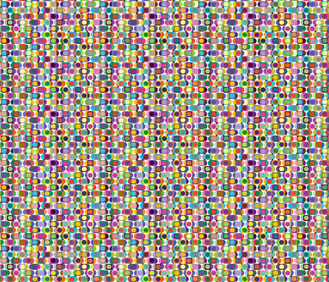 geometric fabric by linsart on Spoonflower - custom fabric