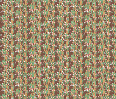 Bunnies fabric by linsart on Spoonflower - custom fabric