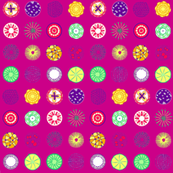 Colored dots