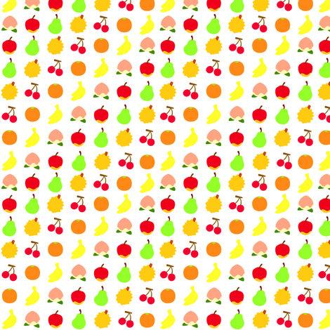 Town Fruits fabric by ggi on Spoonflower - custom fabric