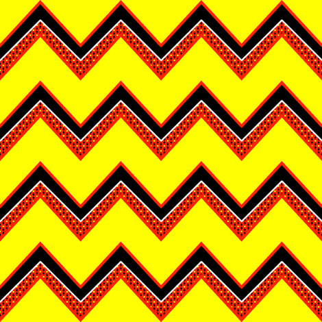DECORATED CHEVRON fabric by mammajamma on Spoonflower - custom fabric