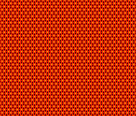 orangy_dots fabric by mammajamma on Spoonflower - custom fabric