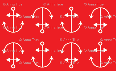 red anchors