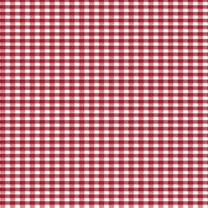 Old Fashioned Gingham - Raspberry