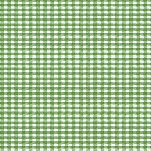 Old Fashioned Gingham - Basil