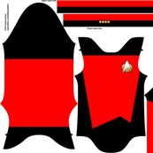 Tiny captain four red designs