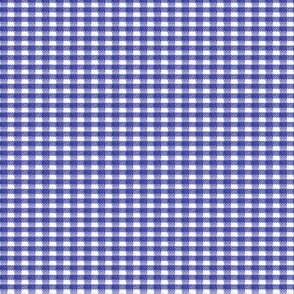 Old Fashioned Gingham - Blueberry
