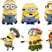 Minions being silly!