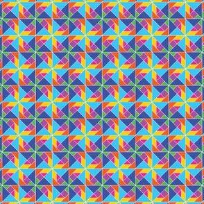 Tangram Pinwheel