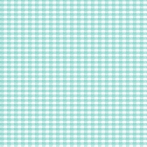 Old Fashioned Gingham - Sea Salt