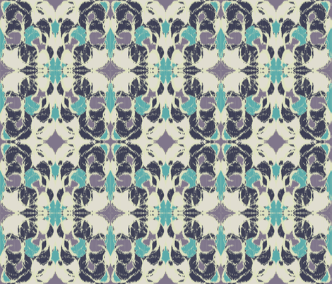 Midnight Garden Ikat