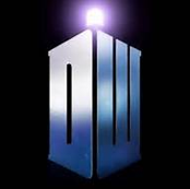 New Doctor Who DW Tardis Logo