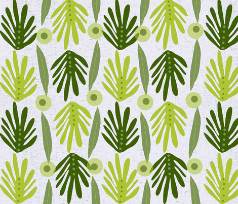 Weeping Willow  fabric by arttreedesigns on Spoonflower - custom fabric