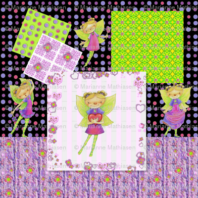 Happy Fairy Birthday Collage
