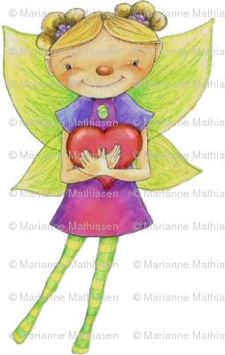 Fairy Valentine gift wrap