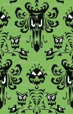 HM wallpaper green